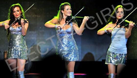 trio de violoniste électrique