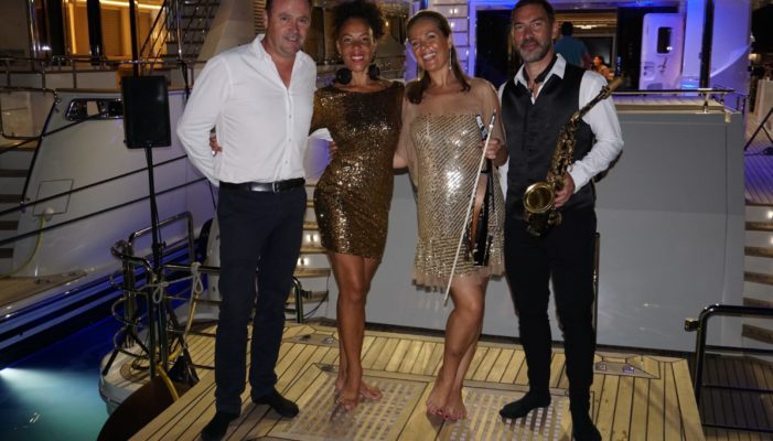 live entertainment cannes yachting festival