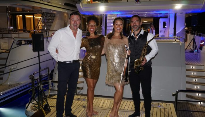 Yachting Festival  Cannes DJ live band